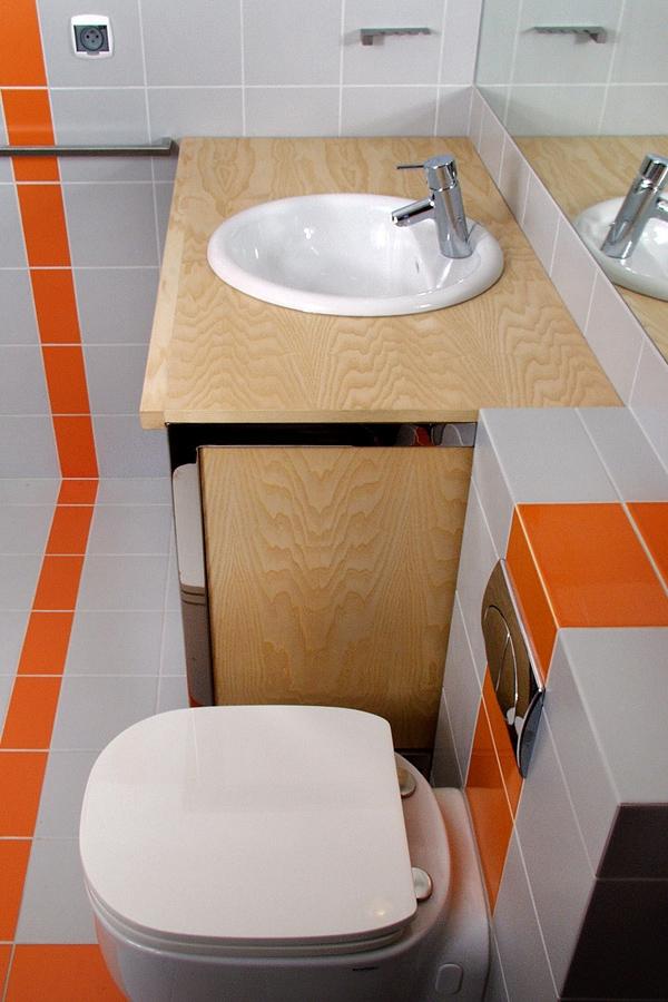 szafka łazienkowa ze stali nierdzewnej polerowanej